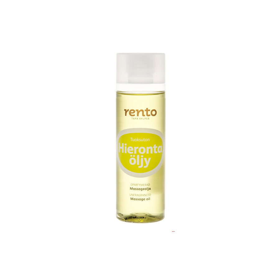 Rento Massage Oil Fragrance Free 200ml  Massage Oil Finnmark Sauna