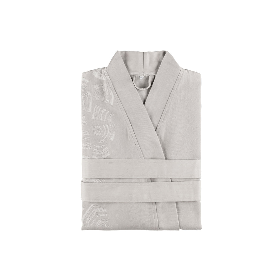Rento Pino Sauna Bathrobe Grey  Sauna Robes & Dressing Gowns Finnmark Sauna