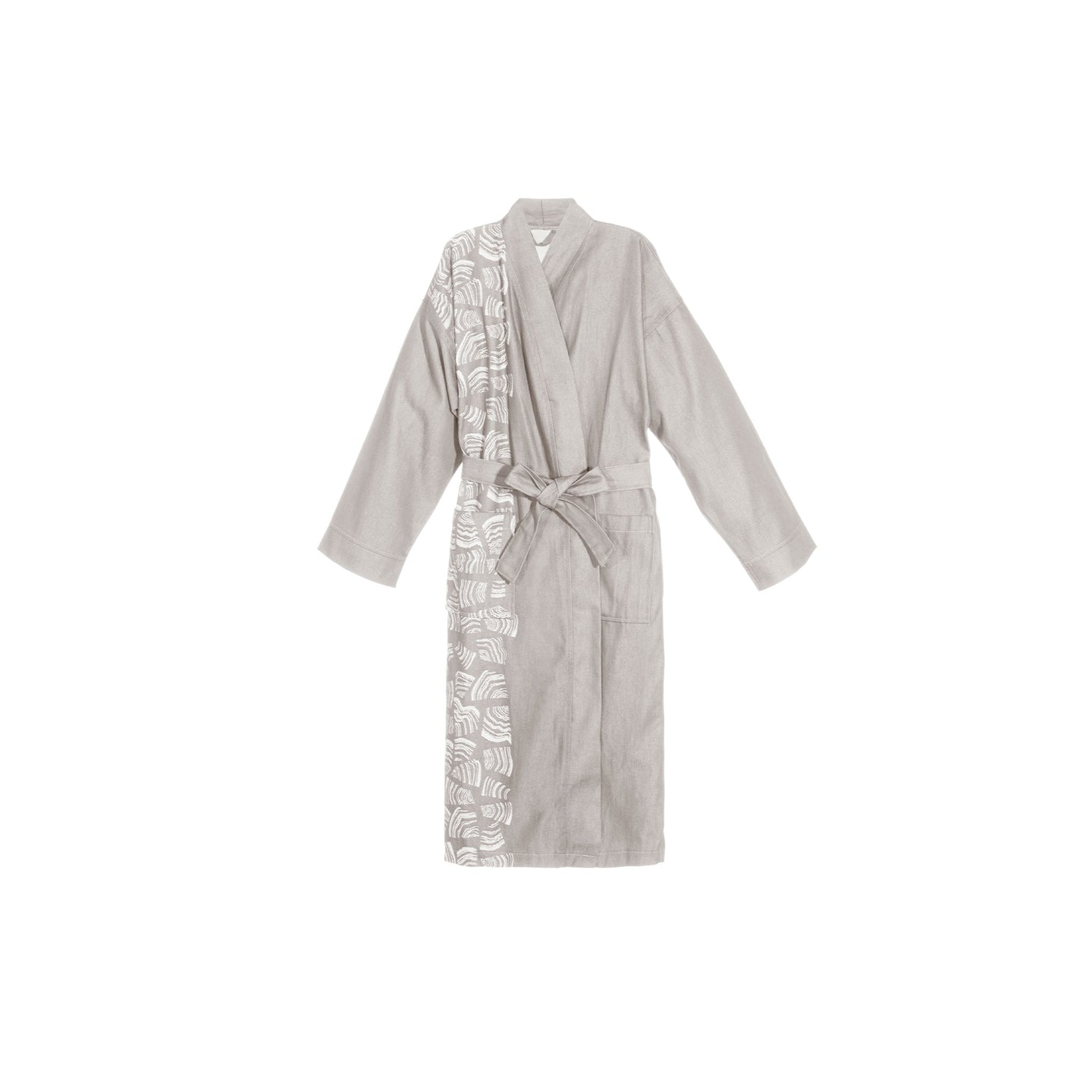 Rento Pino Sauna Bathrobe Grey S/M Sauna Robes & Dressing Gowns Finnmark Sauna