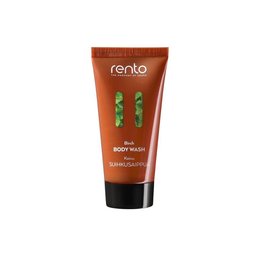 Rento Birch Travel Body Wash 50 ml  body wash Finnmark Sauna