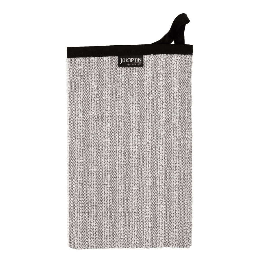 Wash Mitten NAAVA collection by Jokipiin Pellava Grey Wash Mitten Finnmark Sauna
