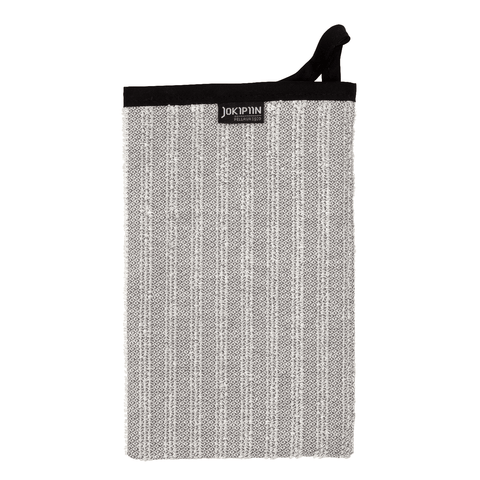Wash Mitten NAAVA collection by Jokipiin Pellava Grey