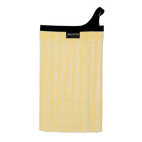 Wash Mitten NAAVA collection by Jokipiin Pellava Yellow