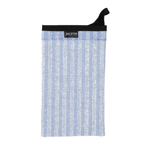 Wash Mitten NAAVA collection by Jokipiin Pellava Light Blue