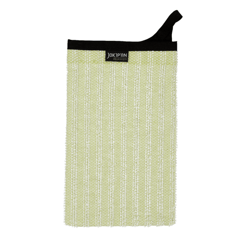 Wash Mitten NAAVA collection by Jokipiin Pellava Light Light Green