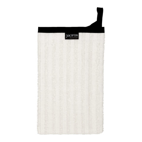 Wash Mitten NAAVA collection by Jokipiin Pellava White