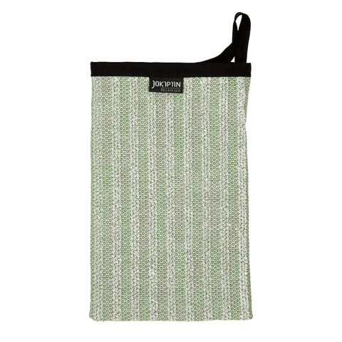 Wash Mitten NAAVA collection by Jokipiin Pellava Green