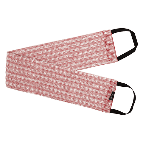 Back Scrubber NAAVA collection by Jokipiin Pellava Red