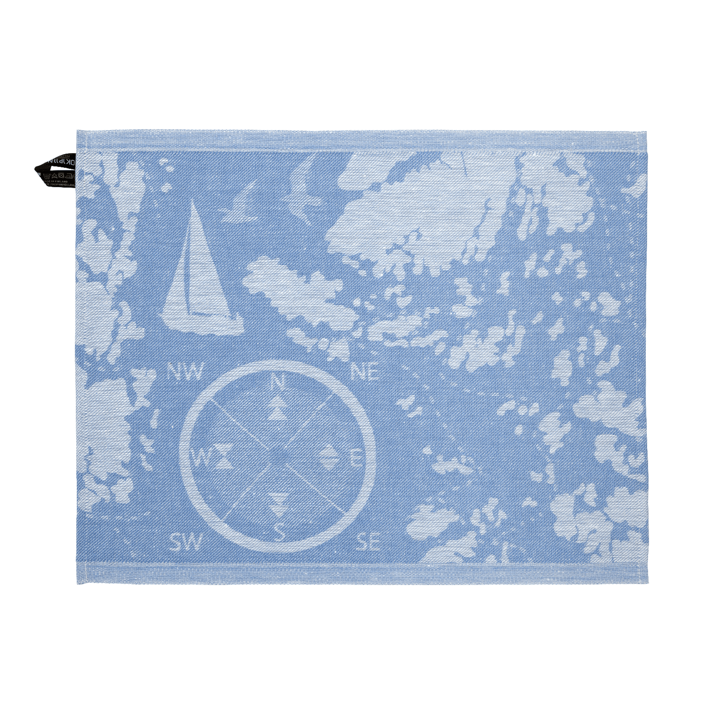 Sauna Towel SAARISTO Collection by Jokipiin Pellava Rolled Towel Finnmark Sauna