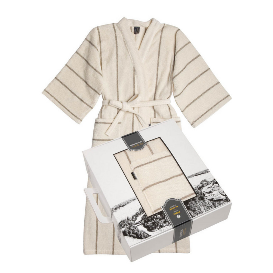 Bathrobe Linen Terry Collection LIITURAITA by Jokipiin Pellava