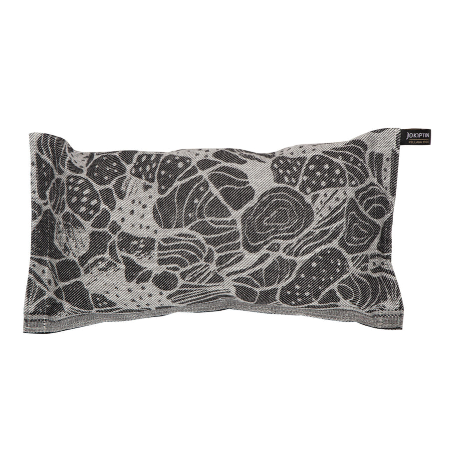 Hiekkarannalla Sauna Pillow Black by Jokipiin Pellava Default Title Sauna Pillow Finnmark Sauna