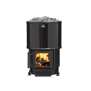 Kota Luosto Wood Burning Sauna Heater Stove front view