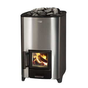 Narvi NC 16 Stainless Steel Wood Burning Sauna Heater Stove