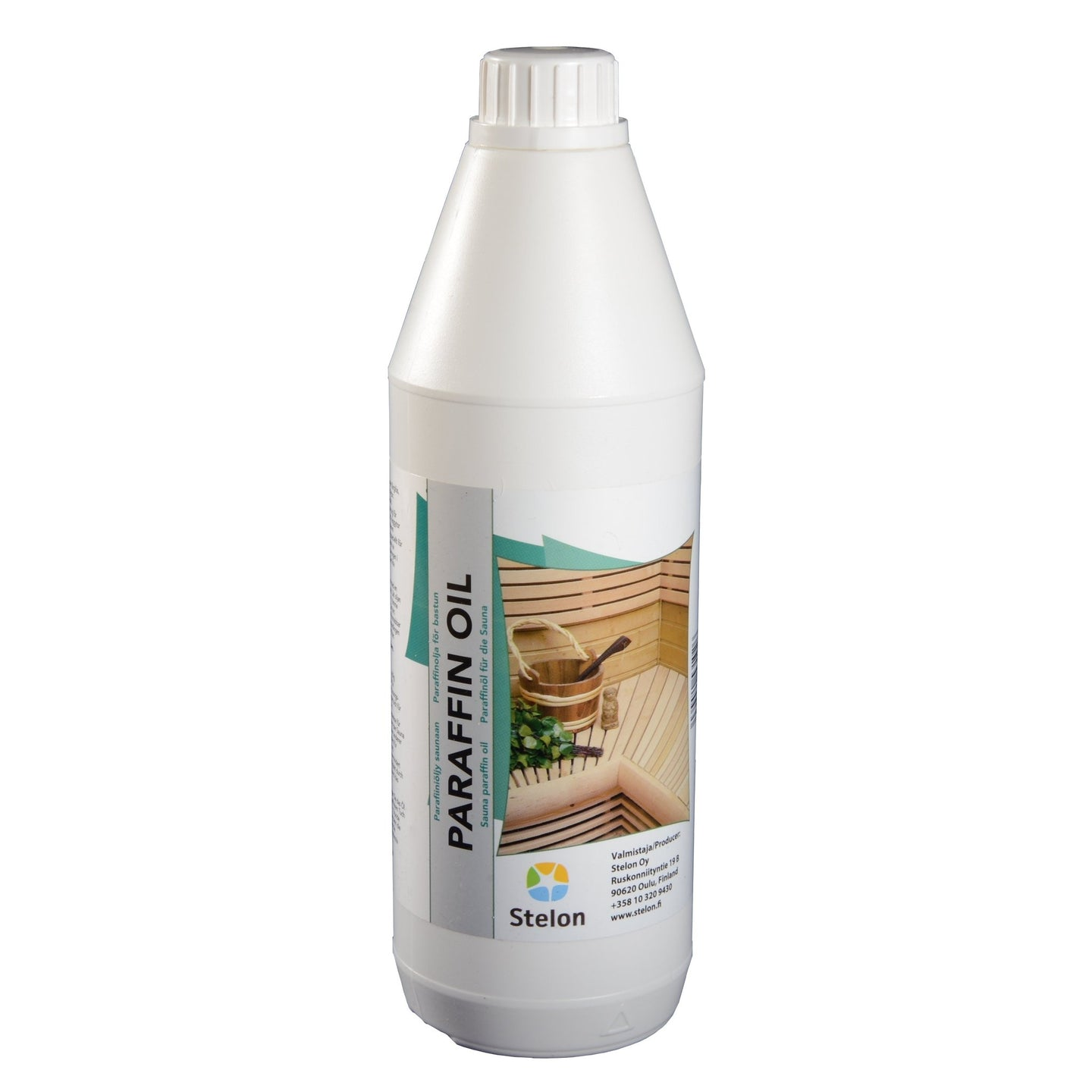 Sauna Paraffin Oil - Specialist Sauna Wood Treatment 1 Litre  Sauna Cleaning & Wood Treatment Finnmark Sauna