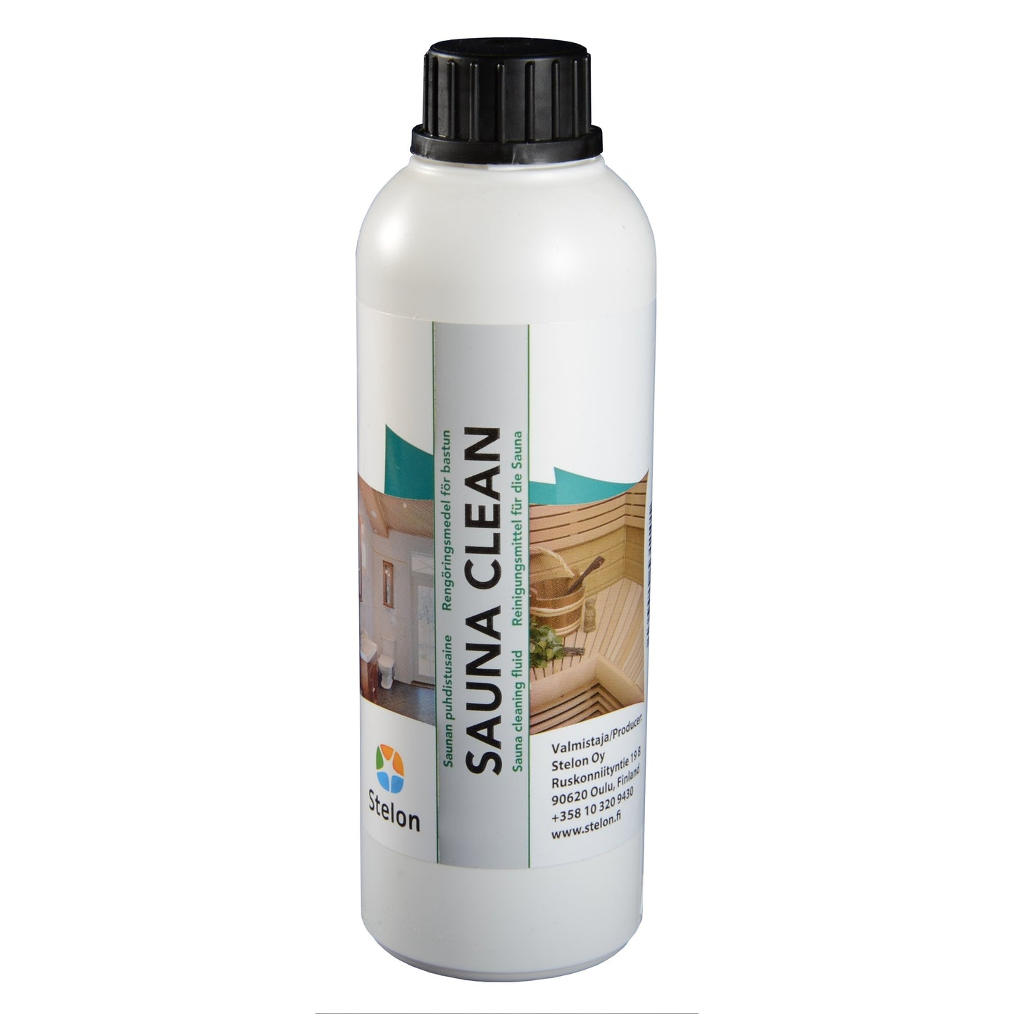 Sauna Clean - Specialist Sauna Wood Cleaner 0.5 Litre  Sauna Cleaning & Wood Treatment Finnmark Sauna