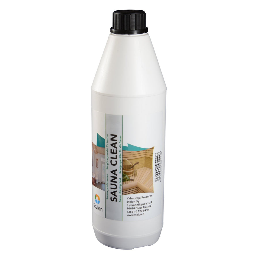 Sauna Clean - Specialist Sauna Wood Cleaner 1 Litre  Sauna Cleaning & Wood Treatment Finnmark Sauna