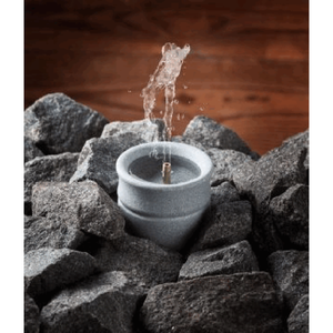 Finnish Soapstone Sauna Water Fountain Scent/Oil Diffuser - Solina