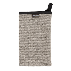 Villa Wash Mitten Collection by Jokipiin Natural/Black Wash Mitten Finnmark Sauna