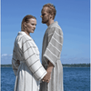 Load image into Gallery viewer, Bathrobe Linen Terry Collection LIITURAITA by Jokipiin Pellava  Sauna Robes & Dressing Gowns Finnmark Sauna