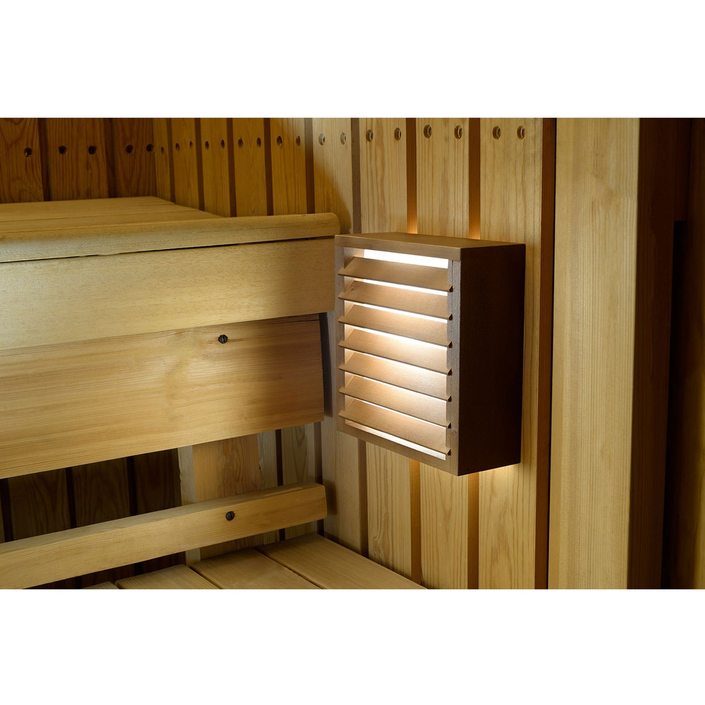 LEDIFY KUIVI LED light for sauna KUIVI dark Sauna Light Finnmark Sauna