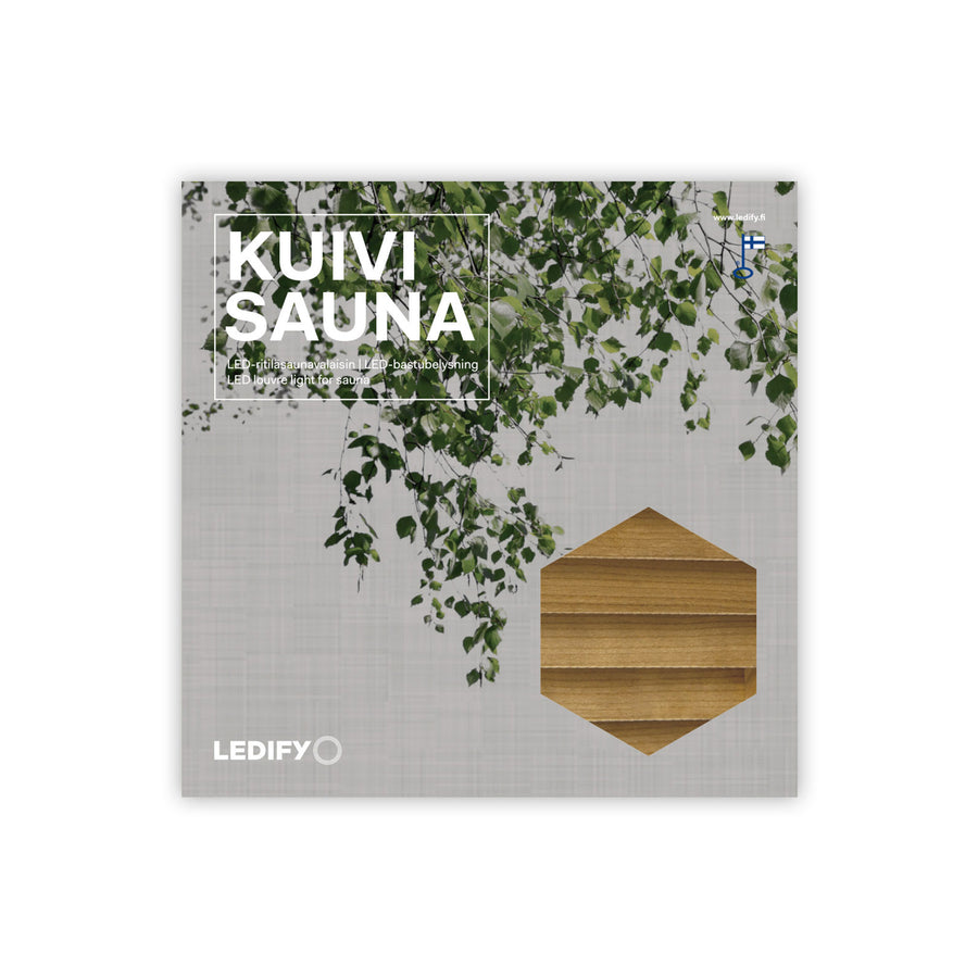 LEDIFY KUIVI LED light for sauna  Sauna Light Finnmark Sauna