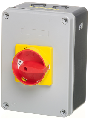 63A, 4 Pole IP65 Enclosed Switch Isolator Boxed LB634P Default Title Isolator Finnmark Sauna