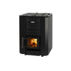Load image into Gallery viewer, Narvi Black 16, 20, 24 Wood Burning Sauna Heater Narvi Black 24 / 4x 20kg Boxes of Grade A Finnish Olivine Diabase Sauna Stones Wood Burning Sauna Heater Finnmark Sauna