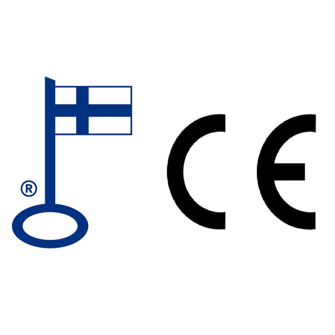 Key Flag and CE Marked