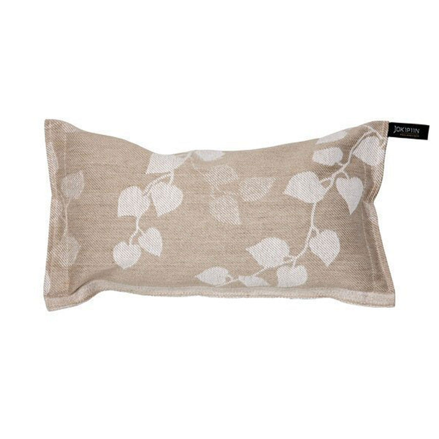 Tuuli Sauna Pillow natural / white by Jokipiin Pellava