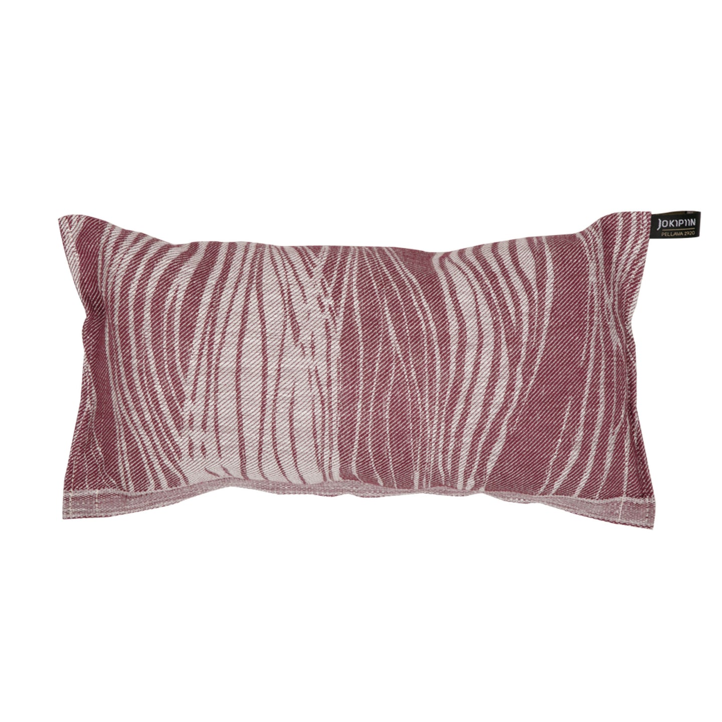 Sauna Pillow Virta by Jokipiin Pellava White / Plum  Sauna Pillow Finnmark Sauna