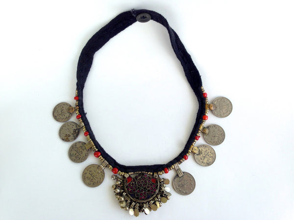 """East Meets West"" Coin Necklace (i)"