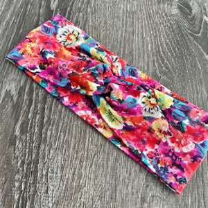 Floral  Burst Twist Headband