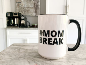 (PRE-ORDER ONLY) Official #MOMBREAK Coffee Mug
