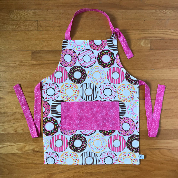 Pink Donut Children's Aprons