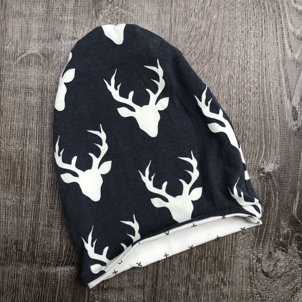 Navy Buck & Navy Cross Liner Beanie