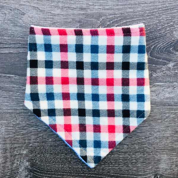 Blue & Red Plaid - Dribbler