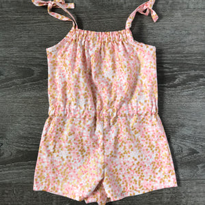 Pink Bling Summer Romper