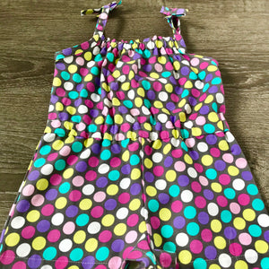 Polka Dot Summer Romper