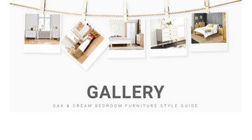 Oak & Cream Bedroom Furniture Style Guide