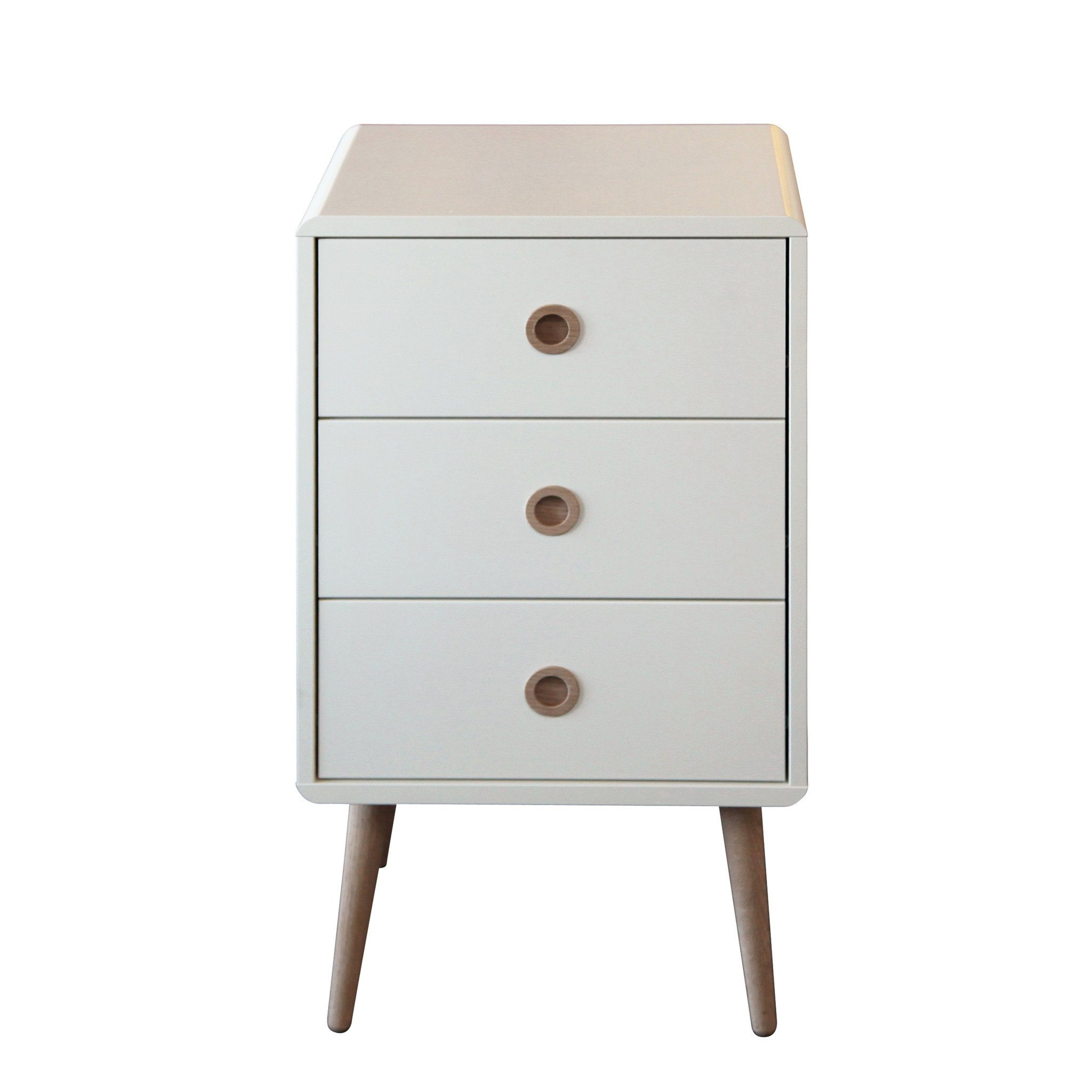 drawer wood drawers top with nightstand solid white round insight ace dresser