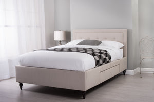 Cadot Florentine Upholstered Bed Frame with Storage