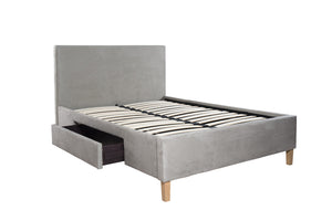 Cadot Charlotte Upholstered Bed with Storage