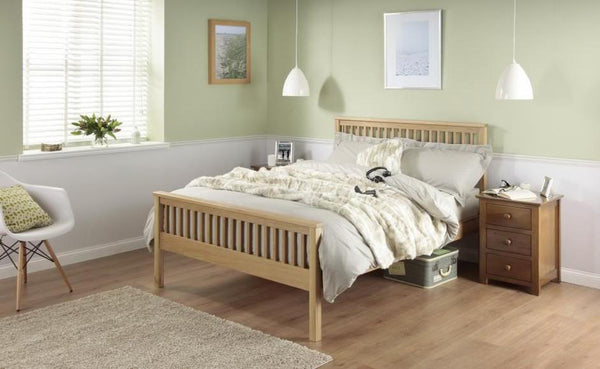 Cadot Luxury Dakota Oak Bed Frame