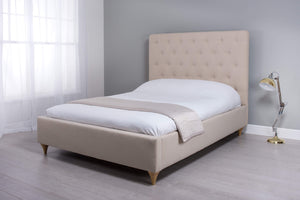 Cadot Victoria Luxury Upholstered Fabric Bed
