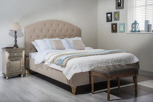 Cadot Sophia Luxury Upholstered Fabric Bed