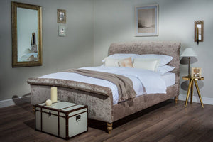 Cadot Elizabeth Luxury Velvet Upholstered Bed