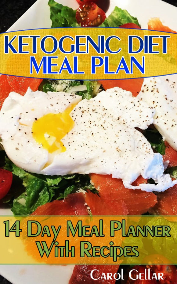 Ketogenic Diet Meal Plan. 14 Day Meal Planner With Recipes