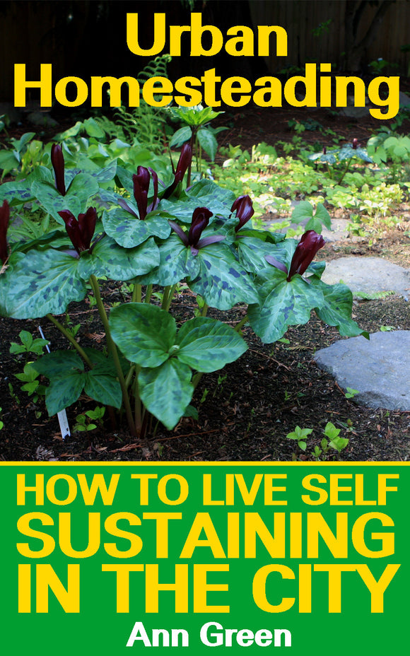 Urban Homesteading. How to Live Self Sustaining in the City