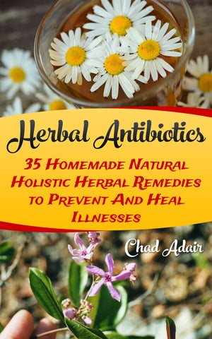 Herbal Antibiotics: 35 Homemade Natural Holistic Herbal Remedies to Prevent And Heal Illnesses