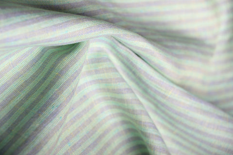 unblended linen fabric